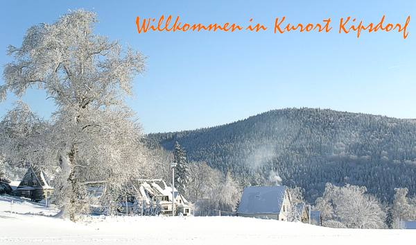 Winter in Kurort Kipsdorf